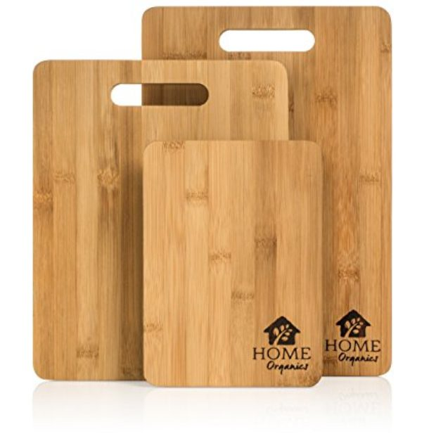 Normally $30, this 3-piece cutting board set is 57 percent off (Photo via Amazon)