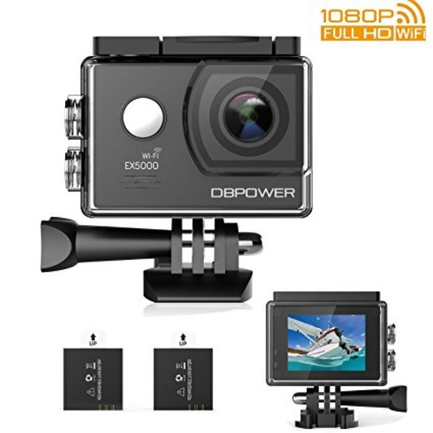 Normally $49, this action camera is 20 percent off with this code (Photo via Amazon)