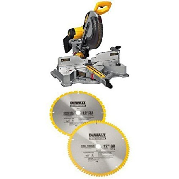 Normally $446, this saw/blade bundle is 22 percent off today (Photo via Amazon)