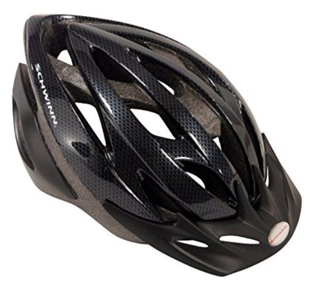 Normally $25, this bike helmet is 40 percent off today (Photo via Amazon)