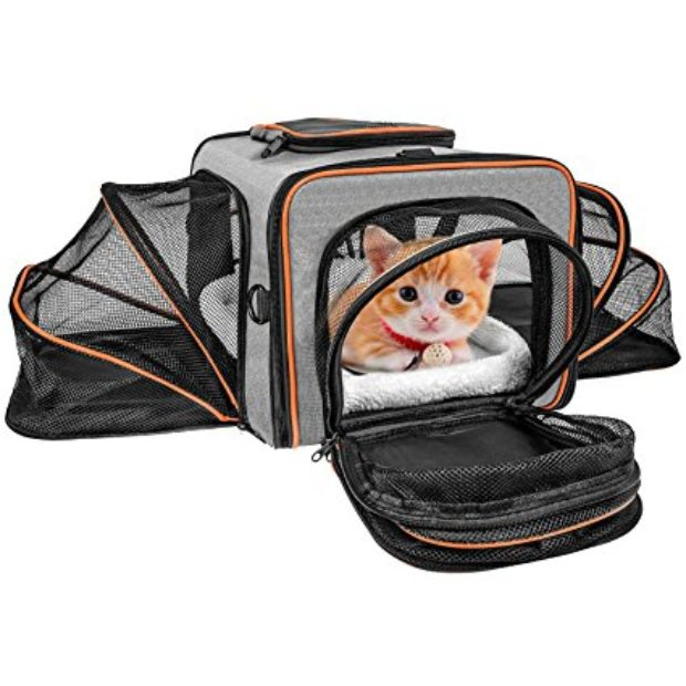 Normally $47, this pet carrier is 30 percent off with this code (Photo via Amazon)
