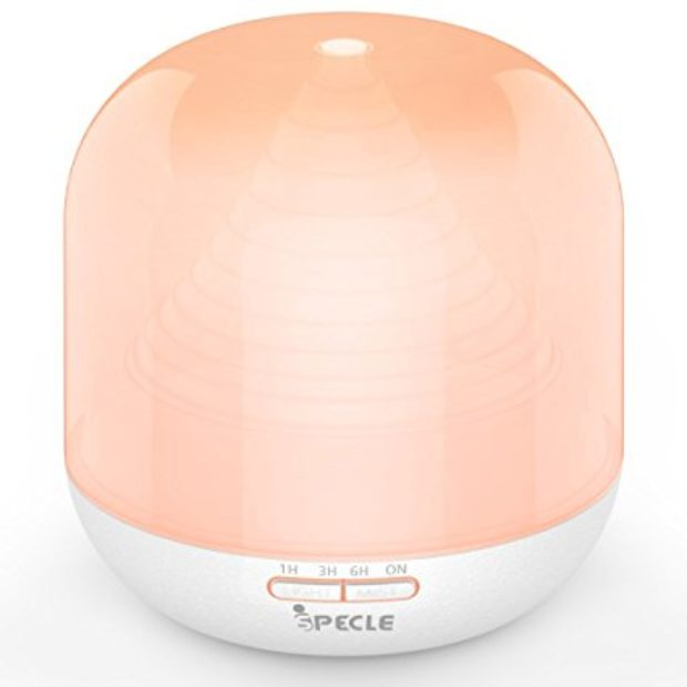 Normally $80, this essential oil diffuser is 74 percent off with this code (Photo via Amazon)