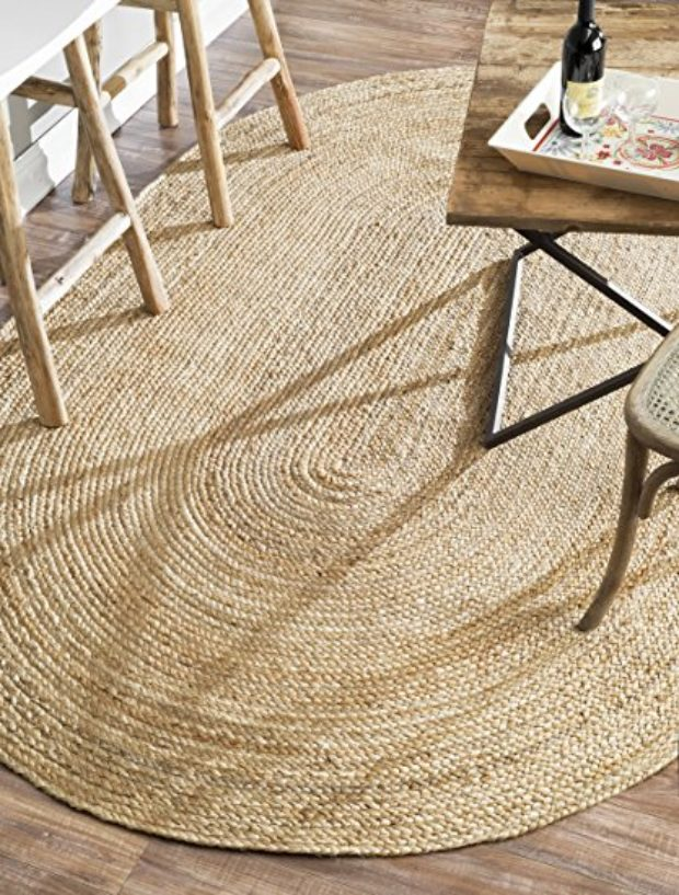 Normally $209, this hand woven oval rug is 54 percent off for Prime Day (Photo via Amazon)