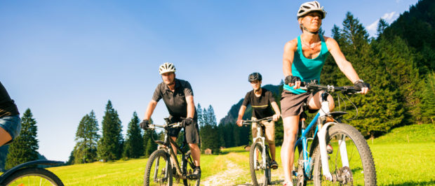 A stock photo of people biking (Photo via Shutterstock)