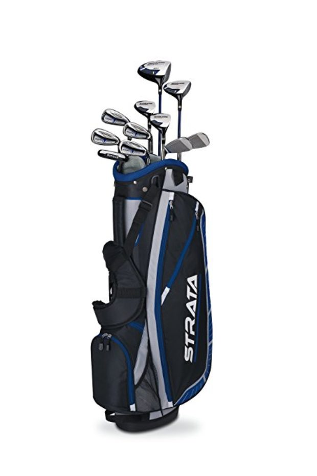 Normally $320, this 16-piece Strata Plus golf set is 45 percent off for Prime Day (Photo via Amazon)