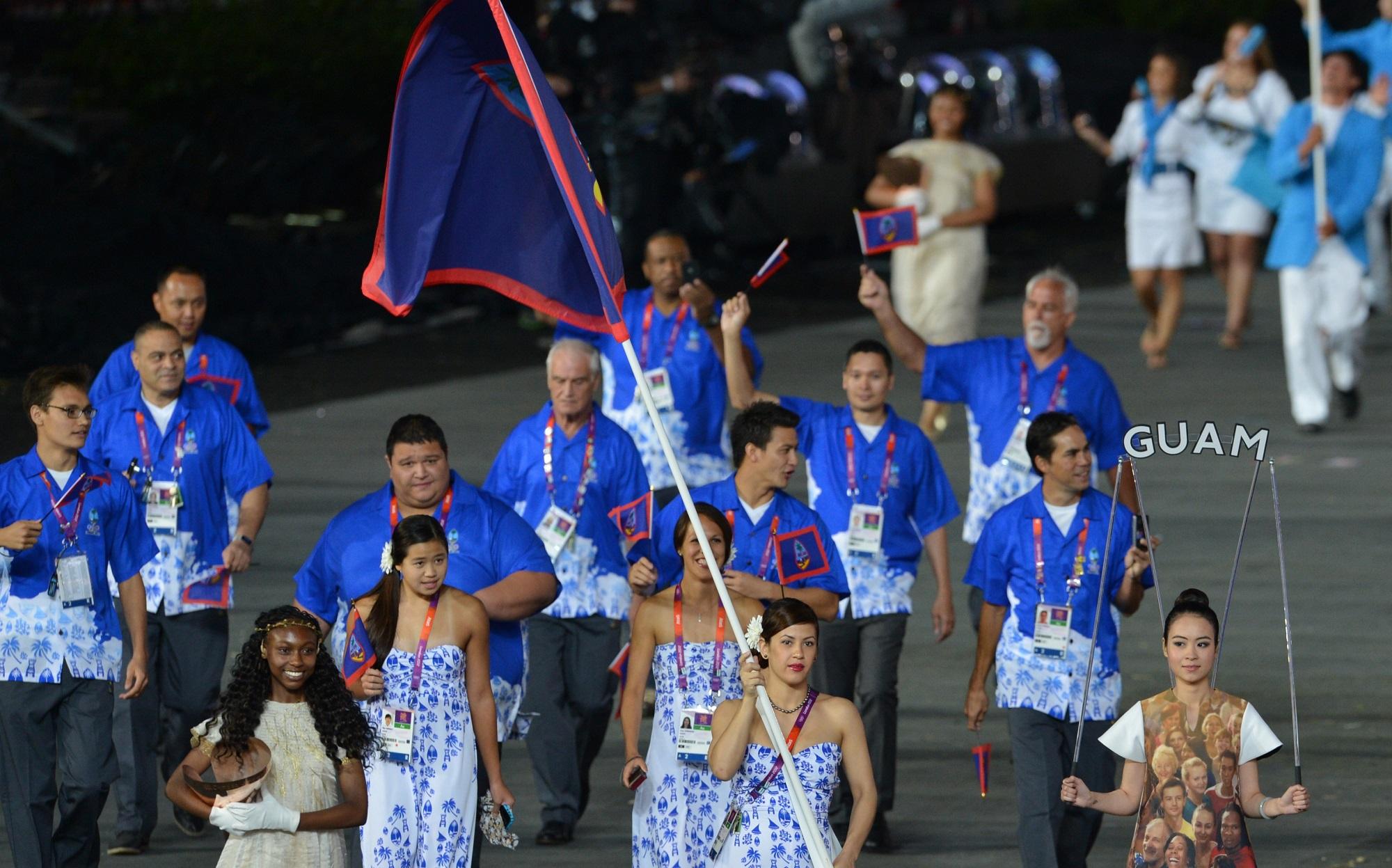 Guam Olympic team Getty Images/Gabriel Bouys