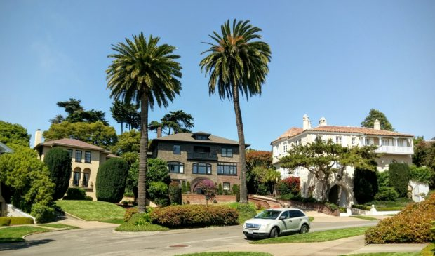 Homes on Presidio Terrace in San Francisco (Credit: Wikimedia Commons)