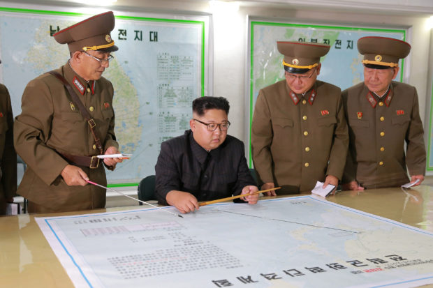 Map Of Death North Korea Has A Detailed Plan To Incinerate Guam