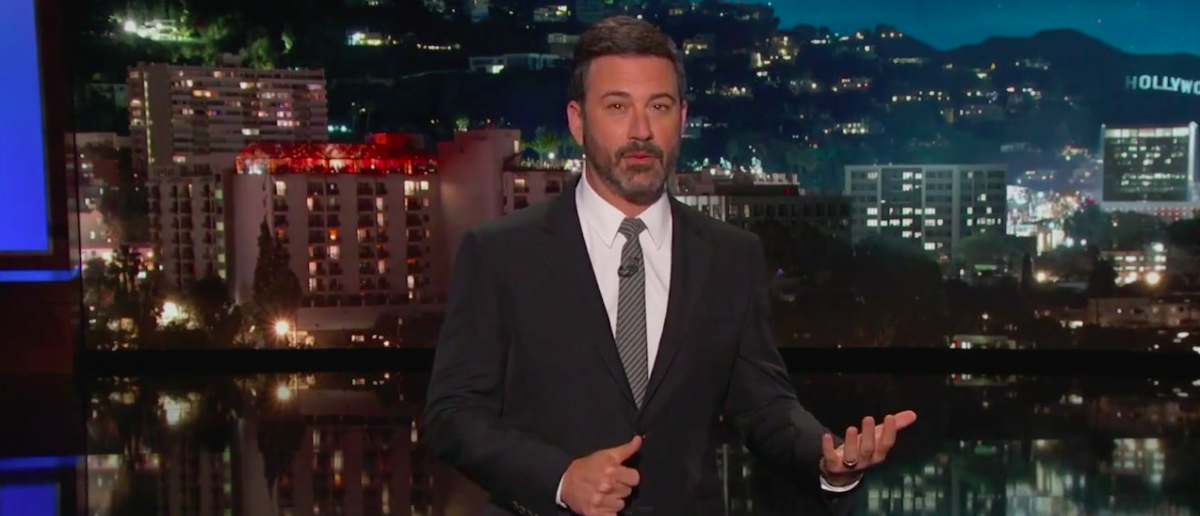 Screen Shot Jimmy Kimmel On Charlottesville (ABC: Aug 15, 2017)