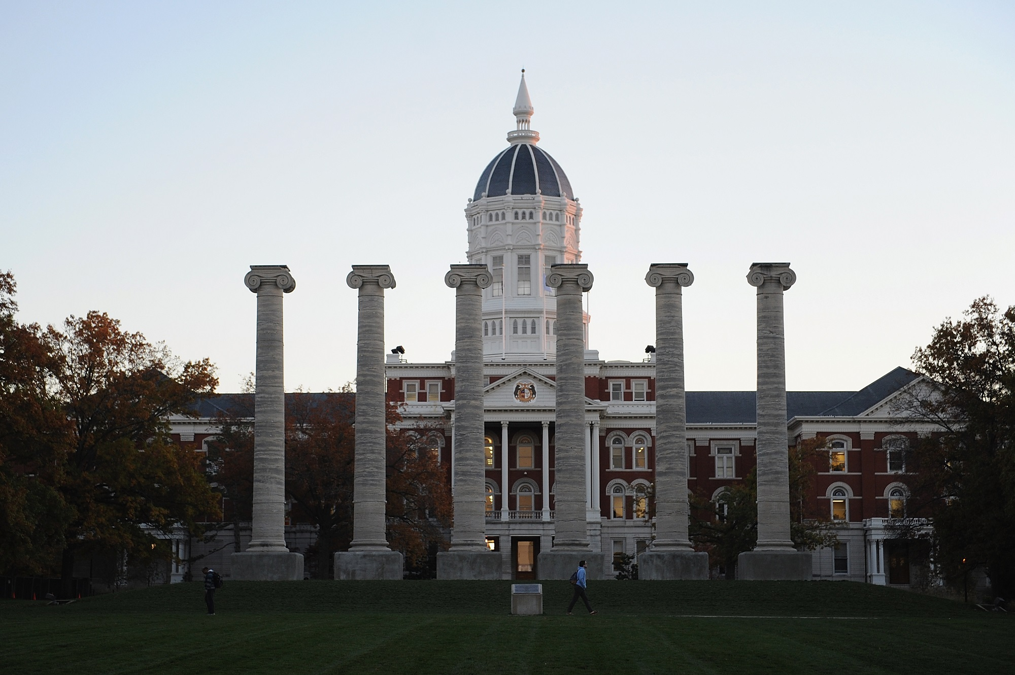 University of Missouri campus Getty Images/Michael B Thomas