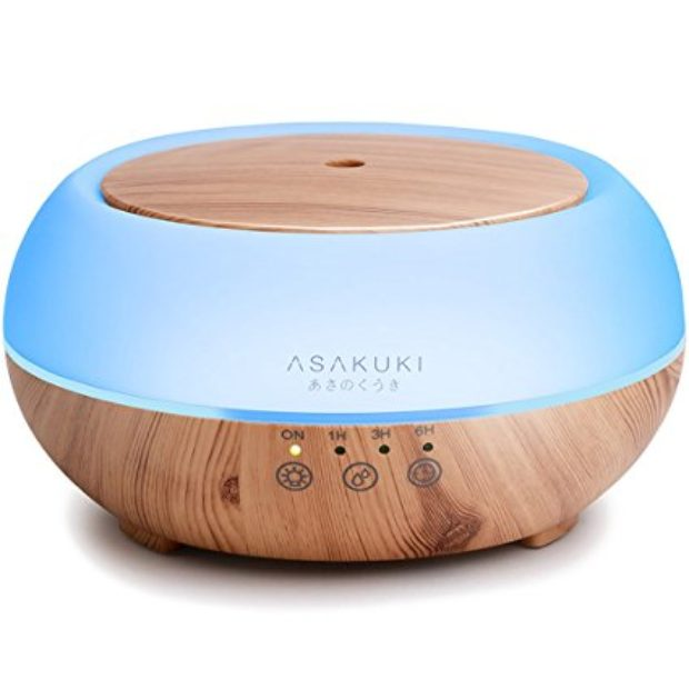 Normally $100, this essential oil diffuser is 80 percent off (Photo via Amazon)