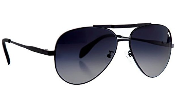 Normally $265, this pair of aviators is 63 percent off (Photo via Amazon)