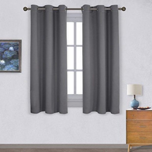 Normally $54, these blackout curtains are 61 percent off (Photo via Amazon)