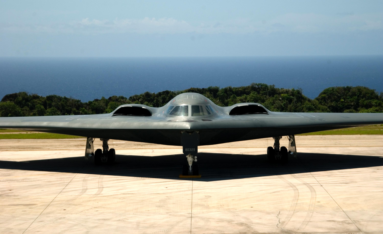 B-2 Spirit Stealth Bomber at Andersen Air Force Base Getty Images/Bennie J. Davis USAF