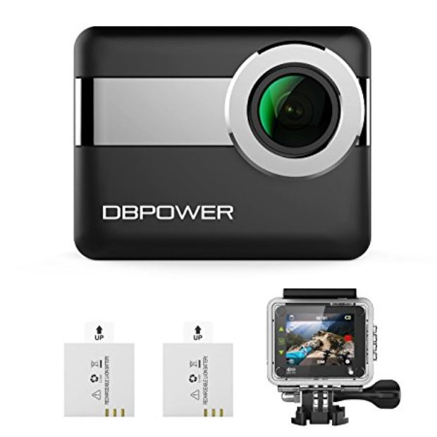 Normally $130, this action camera is 47 percent off with this code (Photo via Amazon)