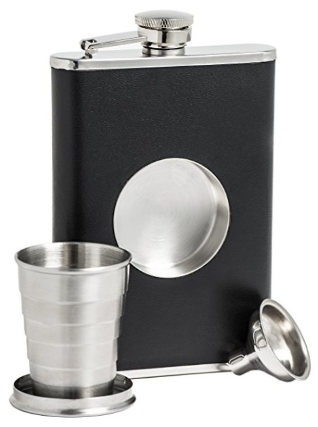 Normally $35, this shot flask is 46 percent off (Photo via Amazon)