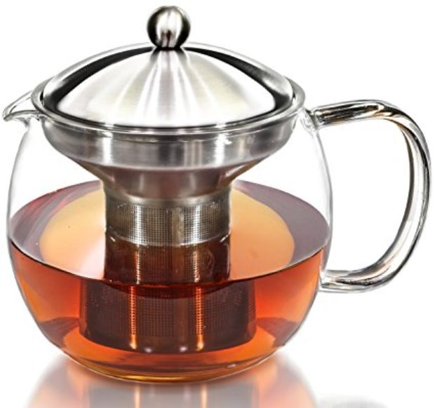 Normally $28, this teapot kettle is 29 percent off, today only (Photo via Amazon)