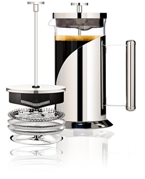 Normally $28, this French press is 47 percent off right now (Photo via Amazon)