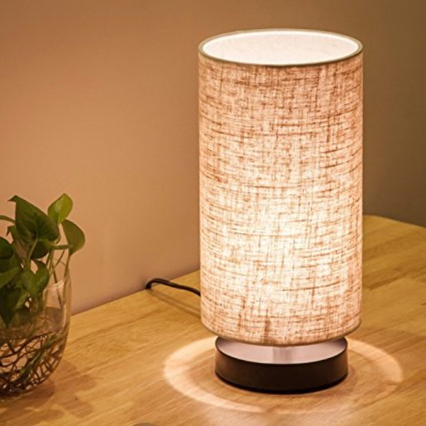 Normally $50, this lamp is 50 percent off (Photo via Amazon)