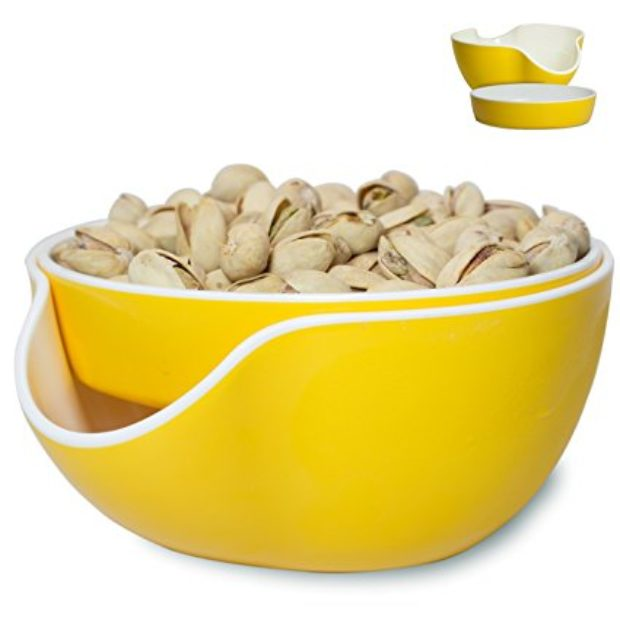 Normally $33, this pistachio bowl is 58 percent off (Photo via Amazon)