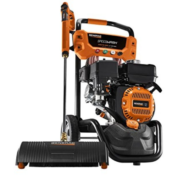 Normally $450, this pressure washer is $100 off today (Photo via Amazon)