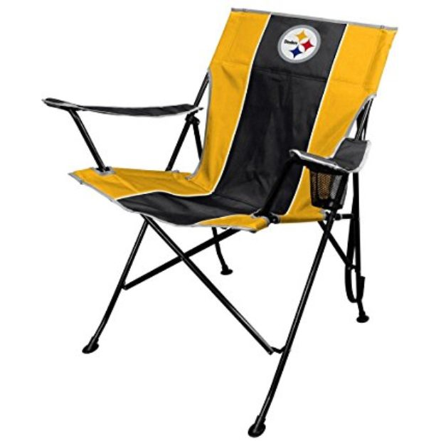 Normally $38, these NFL folding chairs are 25 percent off today (Photo via Amazon)