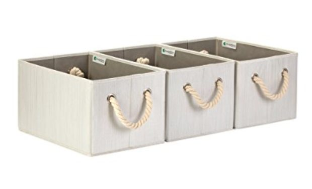 Normally $90, these storage bins are 72 percent off (Photo via Amazon)