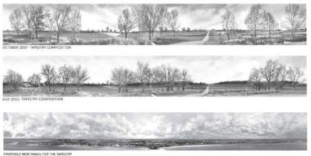 Previously proposed images of Normandy, France for the Eisenhower memorial (National Capital Planning Commission)
