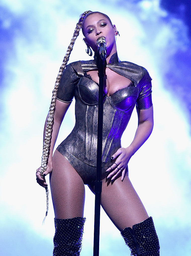 Beyonce rocking the stage during TIDAL X: 1015 in October 2016 in New York City. (Photo by Theo Wargo/Getty Images for TIDAL)