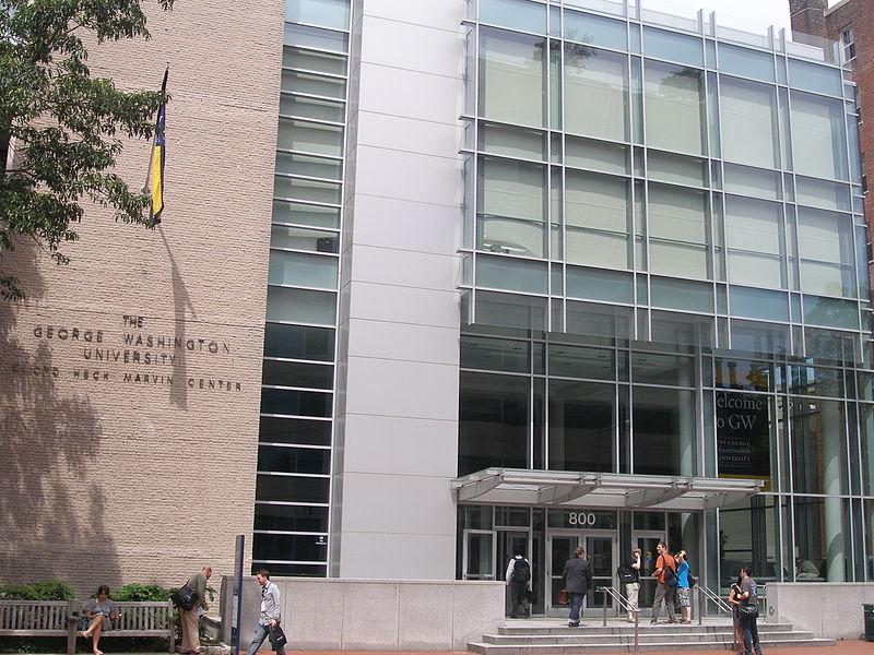 George Washington University Marvin Center Creative Common/ Rajasekhar1961