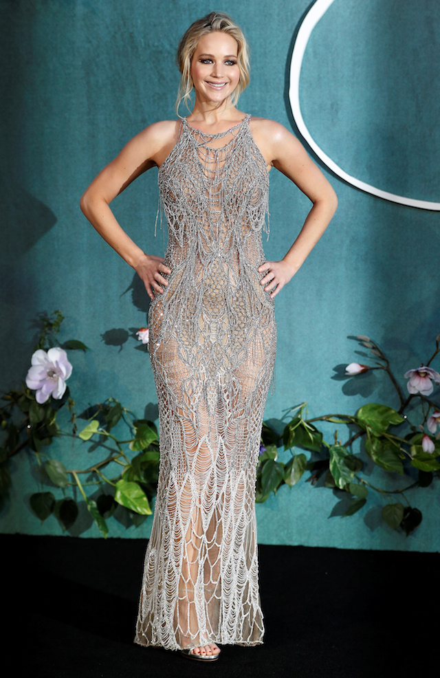 PHOTOS: Jennifer Lawrence Stuns On Red Carpet In See