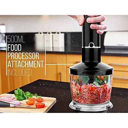Food processor included (Photo via Amazon)