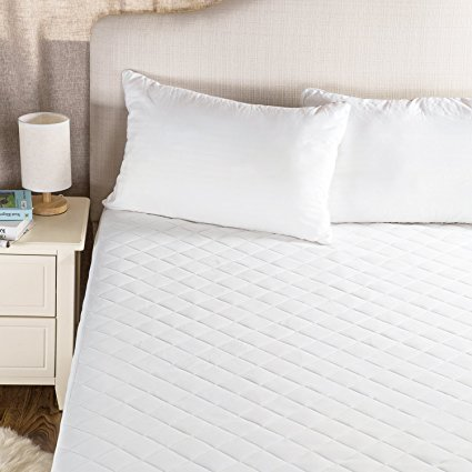 Normally as much as $60, this mattress protector is as much as 60 percent off with this code (Photo via Amazon)