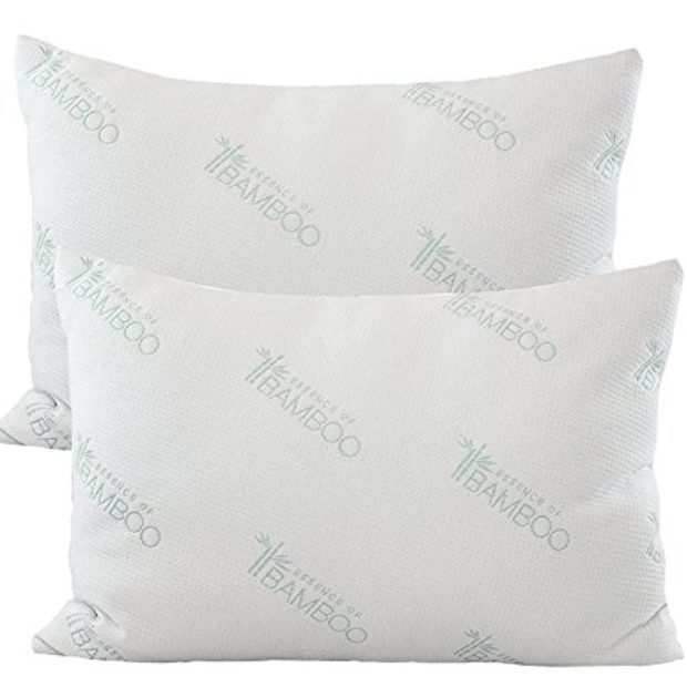 Normally $130, this 2-pack of pillows is 69 percent off today (Photo via Amazon)