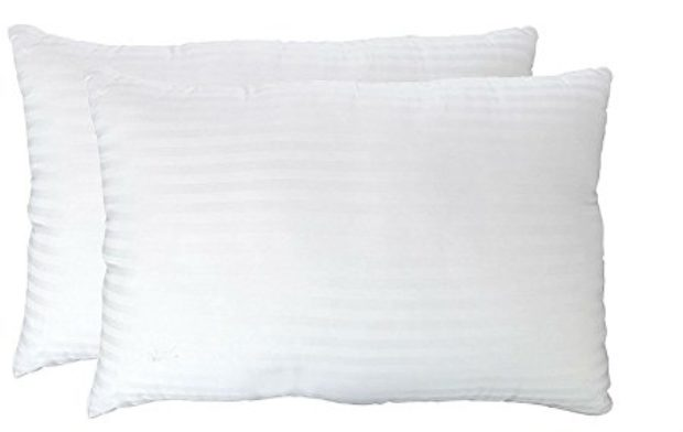 Normally $170, this 2-pack of pillows is 71 percent off today (Photo via Amazon)