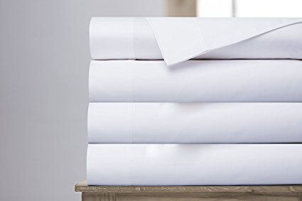 Normally $106, this 4-piece sheet set is 59 percent off today (Photo via Amazon)