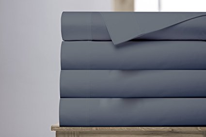 Normally $127, this sheet set comes in 4 sizes and 4 colors (Photo via Amazon)