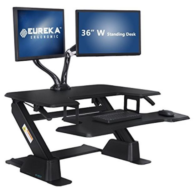 Normally $500, This Standing Desk Is 52 Percent Off Today (Photo Via Amazon)