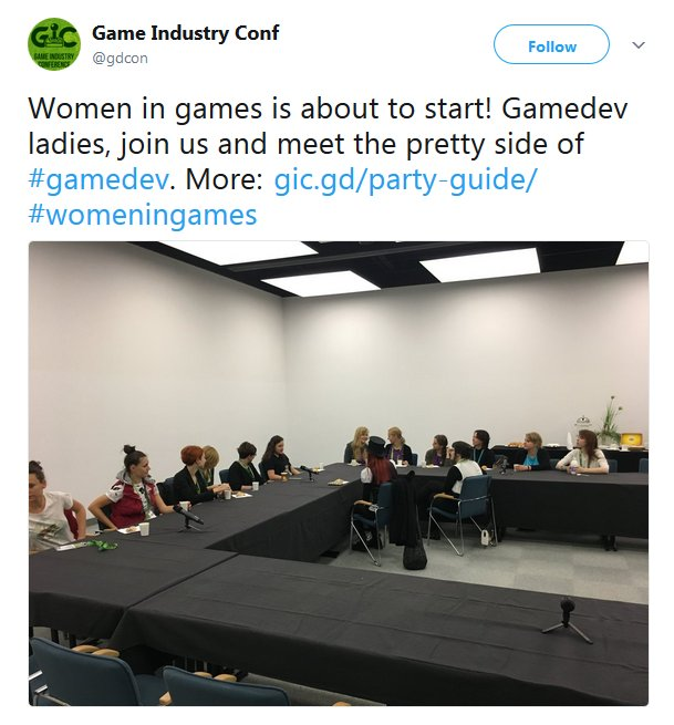 Game Industry Conference (Screenshot: Twitter)