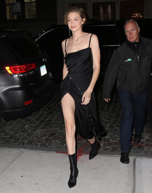 Gigi Hadid out and about in New York City. <P> Pictured: Gigi Hadid <B>Ref: SPL1613040 301017 </B><BR /> Picture by: Splash News