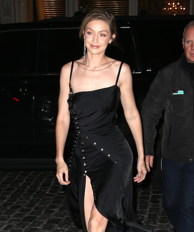 Gigi Hadid out and about in New York City. <P> Pictured: Gigi Hadid <B>Ref: SPL1613040 301017 </B><BR /> Picture by: Splash News<