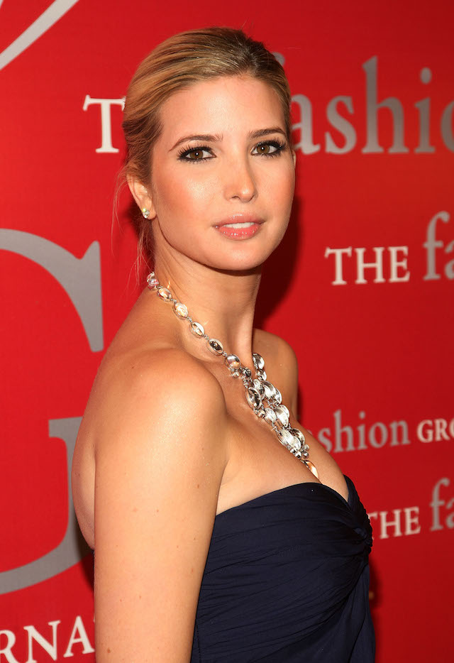 Ivanka Trump the 25th annual Night of Stars hosted by Fashion Group International at Cipriani Wall Street on October 23, 2008 in New York City. (photo: Getty Images)