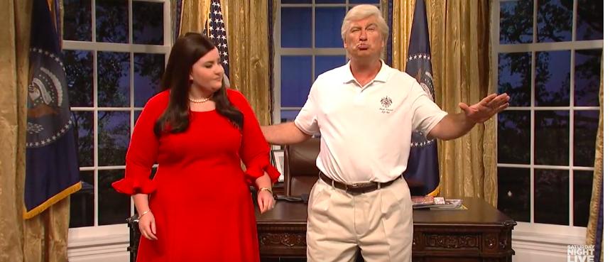 Saturday Night Live with Alec Baldwin (photo: YouTube Screenshot)
