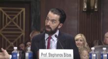 University of Pennsylvania Law School Professor Stephanos Bibas. (Screenshot)