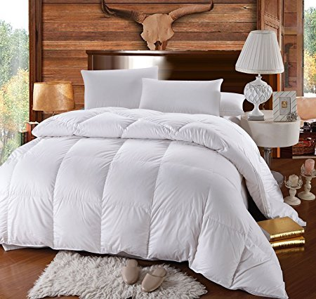 Normally as much as $300, this down comforter is as much as 50 percent off today (Photo via Amazon)