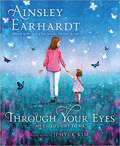 'Through Your Eyes' was published today, October 17 (Photo via Amazon)