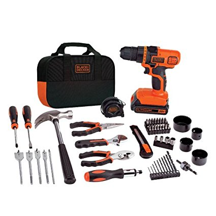 Normally $85, this lithium-ion drill and project kit is 29 percent off today (Photo via Amazon)