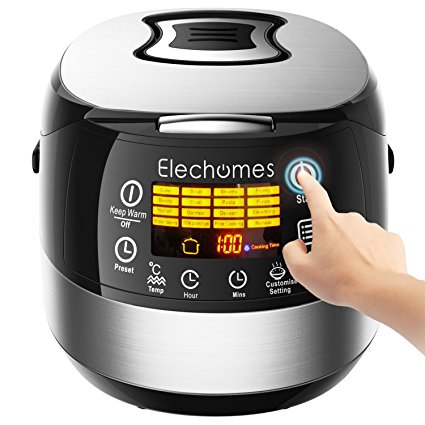 Normally $300, this electric rice cooker is 81 percent off (Photo via Amazon)