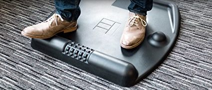 This mat has 3D features for stretching and massaging (Photo via Amazon)