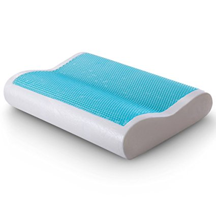 Normally $120, this memory foam pillow is 72 percent off with this code (Photo via Amazon)